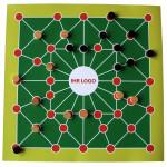 Spiel Tonkin grün-orange eigenes Logo