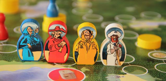 Goldraub, das Piraten Brettspiel von Spieltz