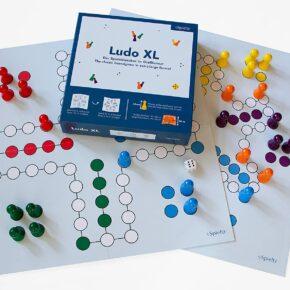 Spieltz Ludo XL. Großes Ludo Brettspiel für Senioren oder Familien - NEU IM PROGRAMM