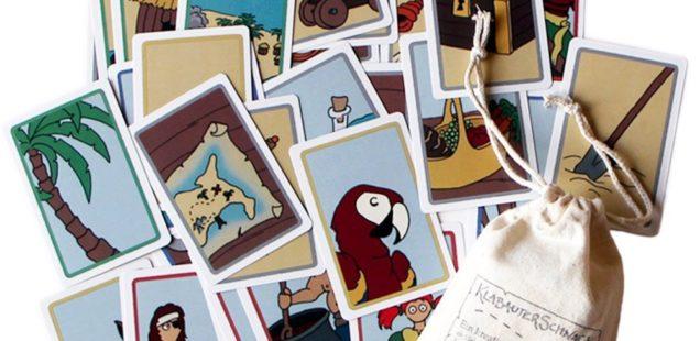 Es war einmal ein Pirat... Klabauterschnack, das Erzähl-Kartenspiel im Adventkalender Fenster 9