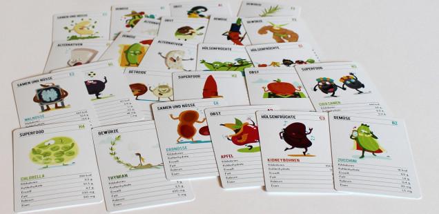 kartenspiel vegane - geschenk für vegetarier und veganer