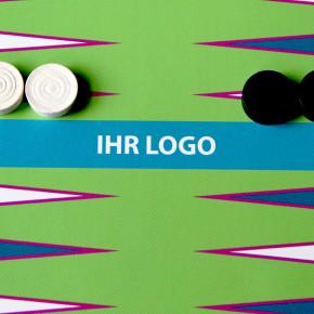 Backgammon Spiel Logo bedrucken