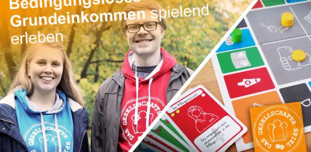 Ein Brettspiel zum Bedingungslosen Grundeinkommen! Interview mit den Machern Alina Herr und Alexander Komar #crowdfunding