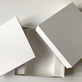 Neu! Blanko Spielbrett groß + passende Blanko Brettspiel-Schachtel mit Einlage