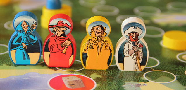 Brettspiel Piraten: GOLDRAUB im Spieltz Adventkalender Fenster 22
