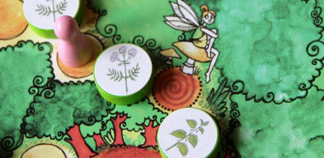 Geschenk für Apotheker und andere Kräuterkundige: Brettspiel Pfefferminz und Baldrian / Adventkalender Fenster 17