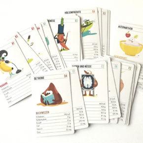 Geschenkidee für Veganer: Unser Kartenspiel ALLES VEGAN heute im Adventkalender! Fenster 16