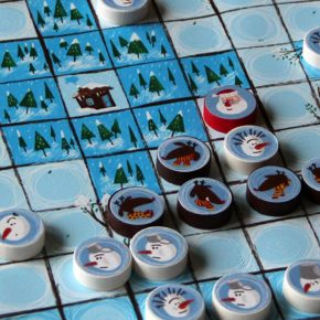 """""""Hilfe, sie wollen den Weihnachtsmann klauen"""" - unser weihnachtliches Hnefatafl #Adventkalender #Fenster8"""
