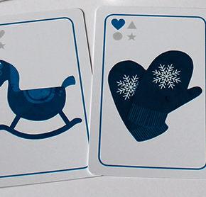 Spieltz Adventkalender - Fenster 2: Das Weihnachtsquartett. Kartenspiel für Weihnachten und Advent