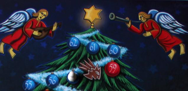 """Brettspiel zu Weihnachten:  Unser Familienspiel """"O Tannenbaum"""" ist fertig!"""