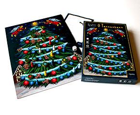 Unser Weihnachtsspiel: O Tannenbaum in Neuauflage (Spielbrett / Schachtel)