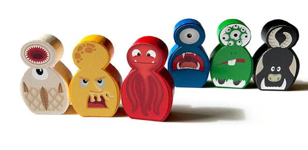 spielfiguren brettspiele besonders monster