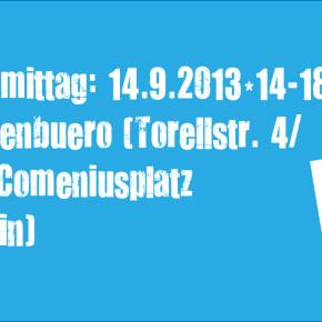 STADT LAND SPIELT 14 - Einladung zum Spiel- und Bastelnachmittag am 14. September