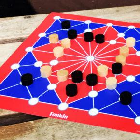 Tonkin - das traditionelle Brettspiel. Regeln + Spielanleitung