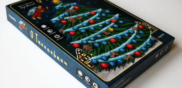 Weihnachtsspiel O Tannenbaum - heute im Spieltz Adventventkalender, Fenster 18!