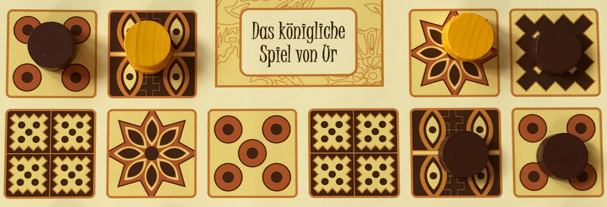 Königliches Spiel Von Ur